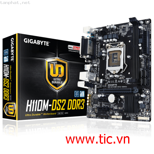 Mainboard GIGABYTE GA-H110M-DS2-DDR4