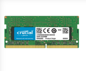Ram Crucial CT8G4SFS824A 8Gb bus 2400 cho laptop
