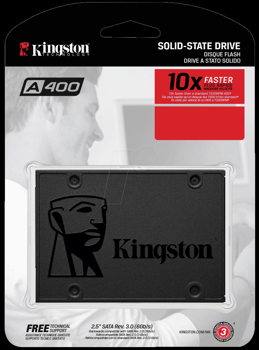 SSD KINGSTON SA400 SA400S37/120G