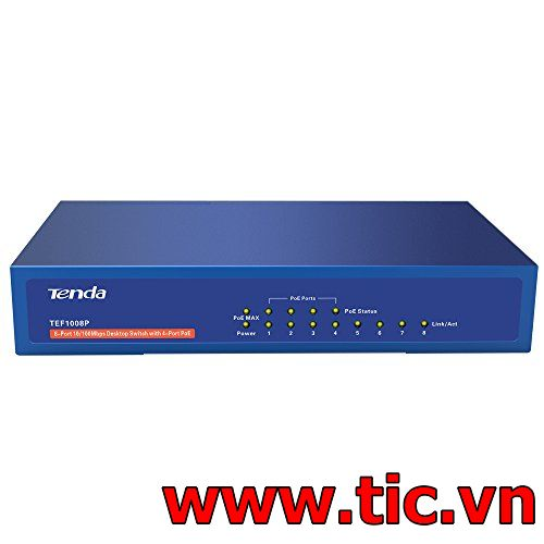 Switch Tenda 24 Port 10/100/1000Mbps TEG1024D