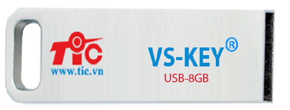 USB HẠN CHẾ LÂY LAN VIRUS VS-KEY 8GB ( HẾT HÀNG )
