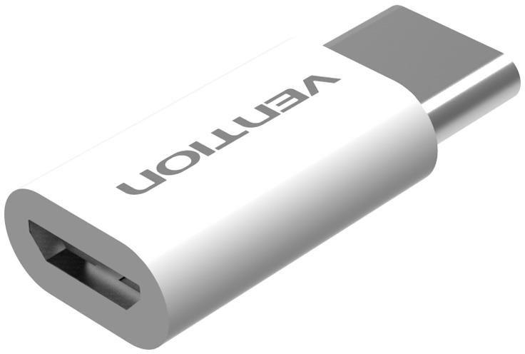 ĐẦU CHUYỂN ĐỔI VENTION TYPE-C TO MICRO USB 2.0 VAS-S10-W