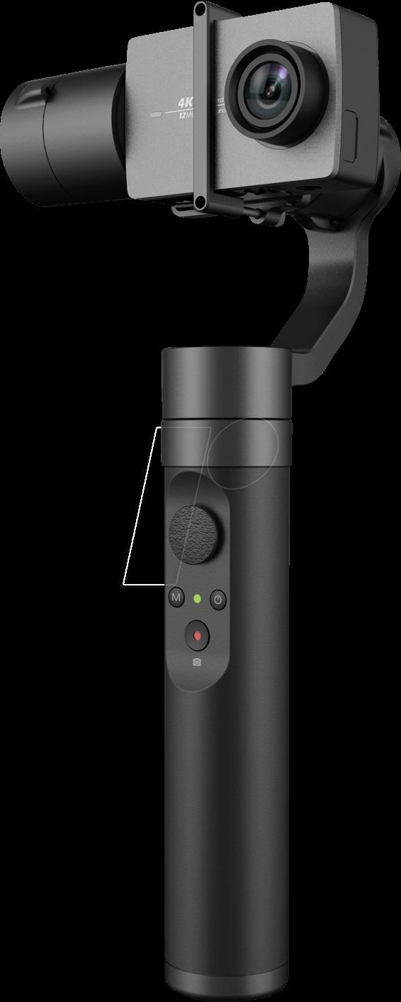 Gimbal chống trung 3 trục, 3 chế độ YI Action B19