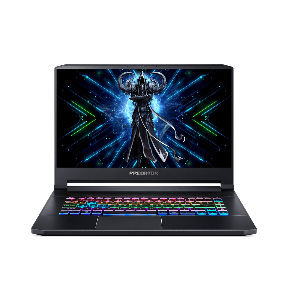 Laptop Acer Gaming Predator Triton 500 PT515-52-72U2 (NH.Q6WSV.001) (i710875H/32GB RAM/1TB SSD/RTX 2080 Super 8G/15.6 inch FHD 300Hz GSYNC/Win10/Đen) (2020)