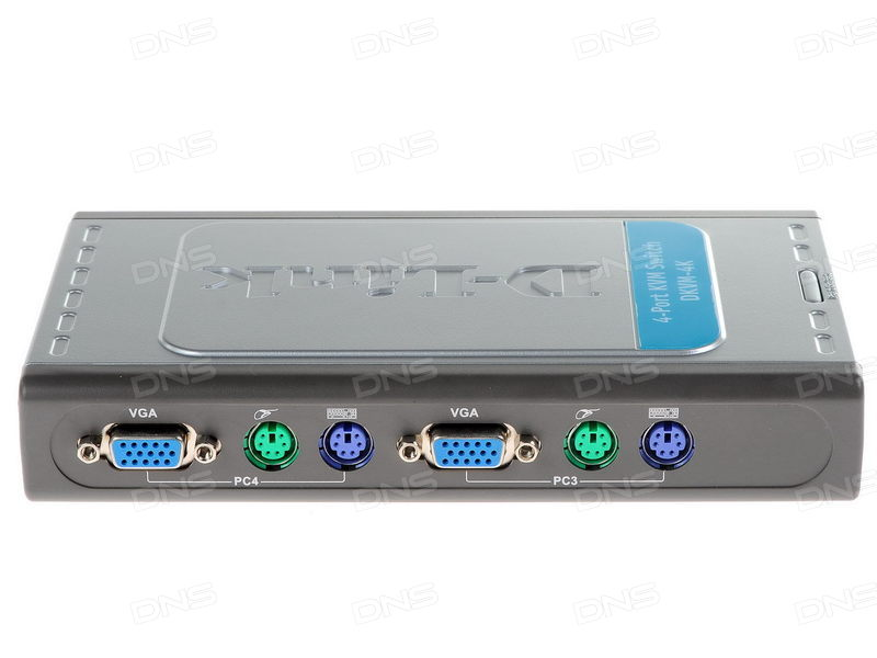 Thiết bị chuyển mạch D-Link DKVM-4K 2-Port PS/2 KVM Switch