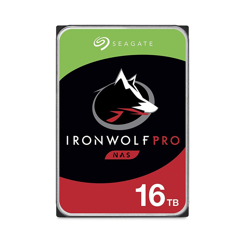 Ổ cứng HDD Seagate Ironwolf Pro 16TB (3.5 inch/SATA3/256MB Cache/7200RPM) (ST16000NE000)
