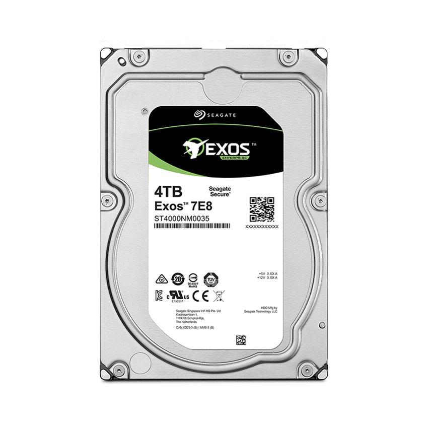 Ổ cứng HDD Seagate Exos 4TB (7.2K RPM SAS 512N 3.5 inch , 256MB Cache) (ST4000NM003A)