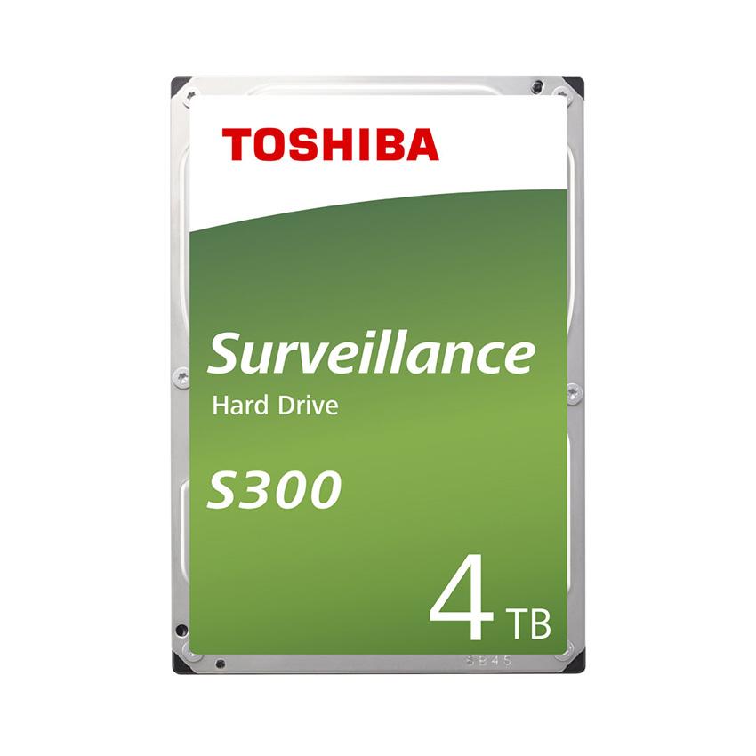 Ổ cứng Toshiba AV S300 4TB 3.5 inch,5400RPM, Sata 3 6Gb/s,128MB Cache (HDWT740UZSVA)