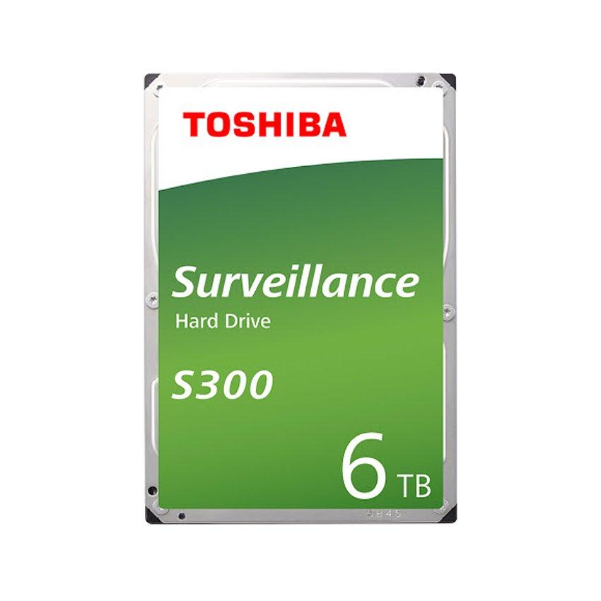 Ổ cứng Toshiba AV S300 6TB 3.5 inch,7200RPM, Sata 3 6Gb/s,256MB Cache (HDWT360UZSVA)