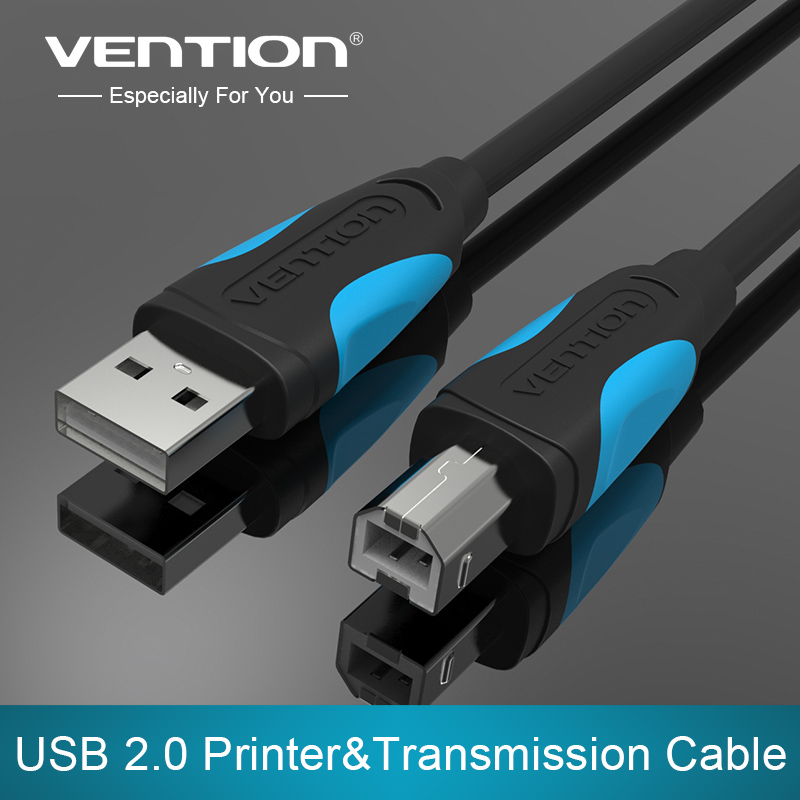 Cáp máy in Vention USB 2.0 5m VAS-A16-B500