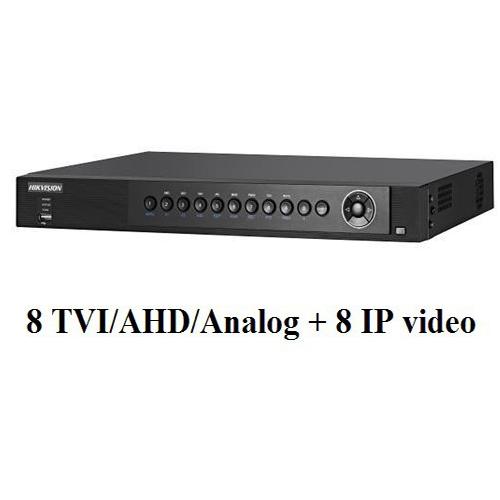 Đầu ghi hình camera 8 kênh HYBRID Hikvision DS-7608HUHI-F2/N