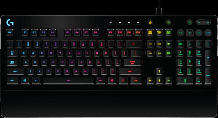 Bàn phím Logitech G213 Prodigy RGB