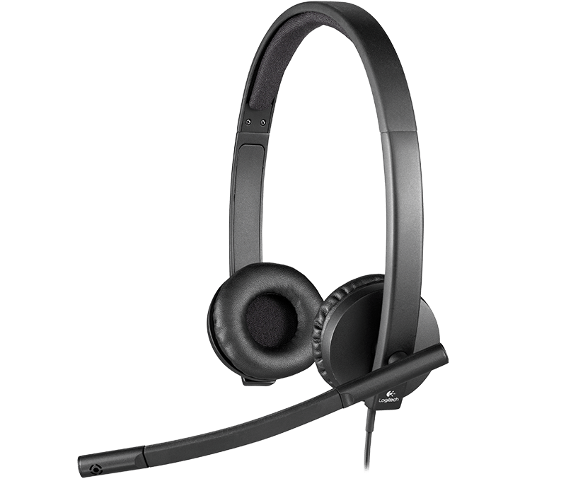 Tai nghe có mic Logitech Headset H570e(981-000574)