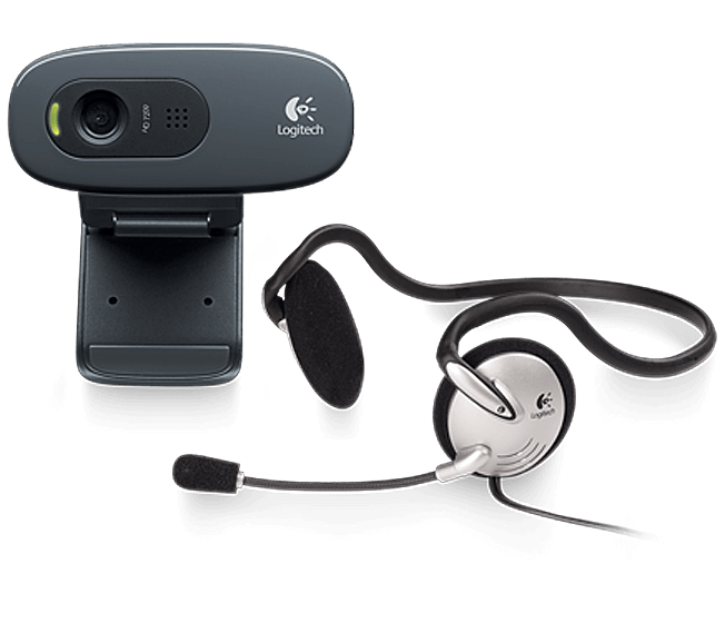 Webcam C270h HD - Logitech(960-000627)