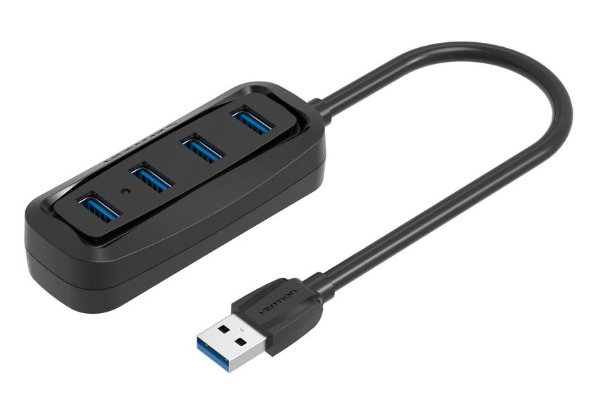 Bộ chia Vention  USB3.0 4-Port  ABS Shell VAS-J45-B050