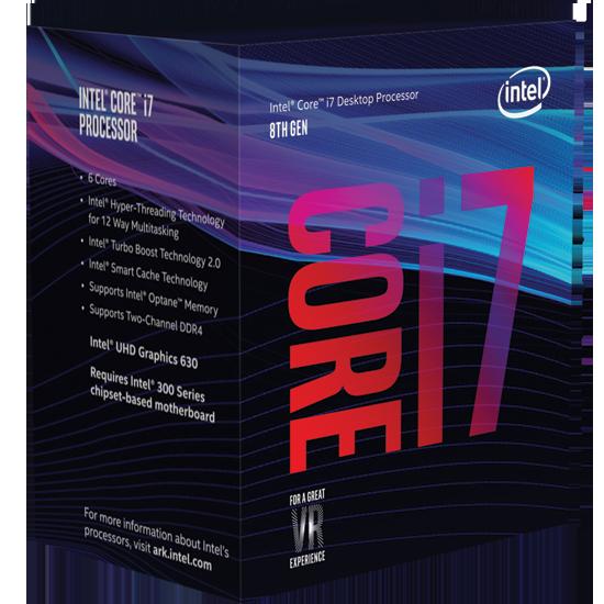 CPU Intel Core i7 8700K