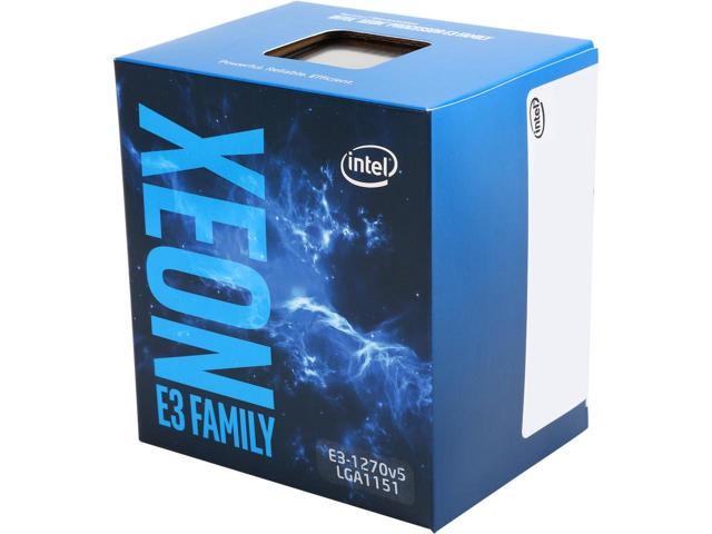 CPU Intel Xeon  E3 1270V5