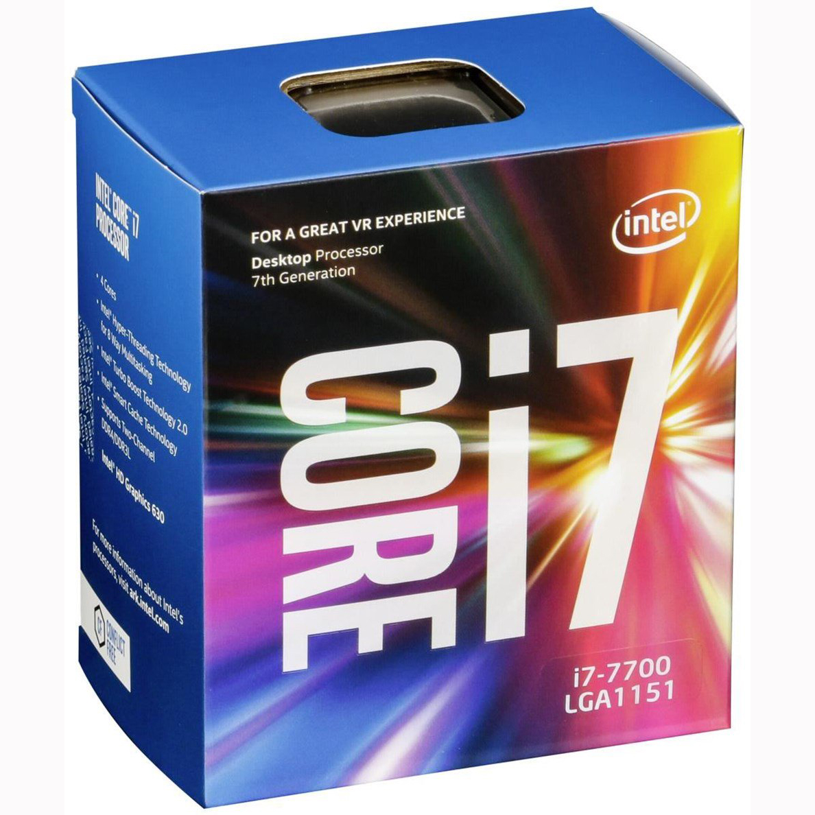 CPU Intel Core i7-7700 3.6 GHz