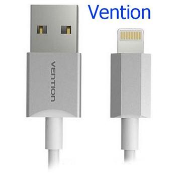 Cáp USB Lithing Vention  cao cấp dùng cho Iphone 6,7 VAI-C02-W100