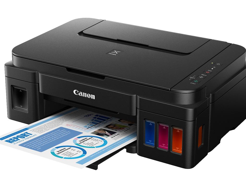 MÁY IN CANON phun màu đa chức năng Pixma G1000