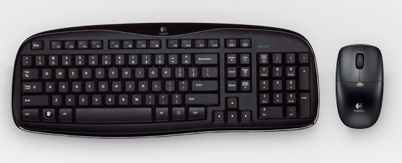 Bộ Bàn phím & Chuột không dây Logitech MK520R