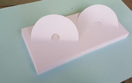 Nhãn dán đĩa màu trắng (100 tờ)