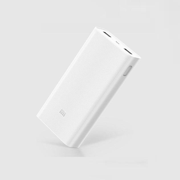 Sạc dự phòng Xiaomi 20000MAH MI 2 TRẮNG (WHITE) -VXN4180CN