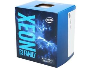 CPU Intel Xeon  E3 1275V5