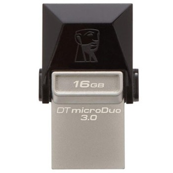 USB Kingston 32GB DT MicroDuo USB 3.0 + microUSB (Android/OTG)_DTDUO3/32GB