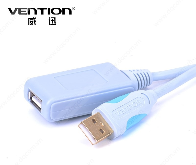 Cáp USB 2.0 Vention nối dài cao cấp có IC khuếch đại 10m VAS-C01-S1000