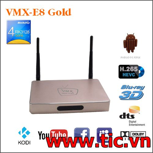 TIVI BOX ANDROID VMX-E8